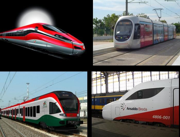 AnsaldoBreda 是 Finmeccanica 旗下公司,总部位于意大利,专门从事与高级、尖端的铁路和城市交通系统的工程、设计和制造有关的工作